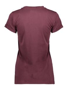 t shirt lotte 0jw1960 oscar jane t-shirt red bordeaux 410