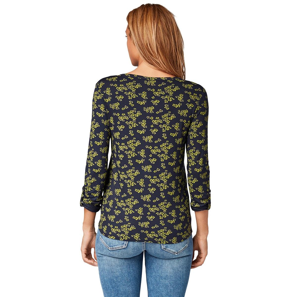 t shirt met bloemen print 1014881xx70 tom tailor t-shirt 20595
