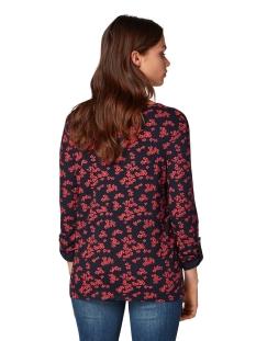 t shirt met bloemen print 1014881xx70 tom tailor t-shirt 20039