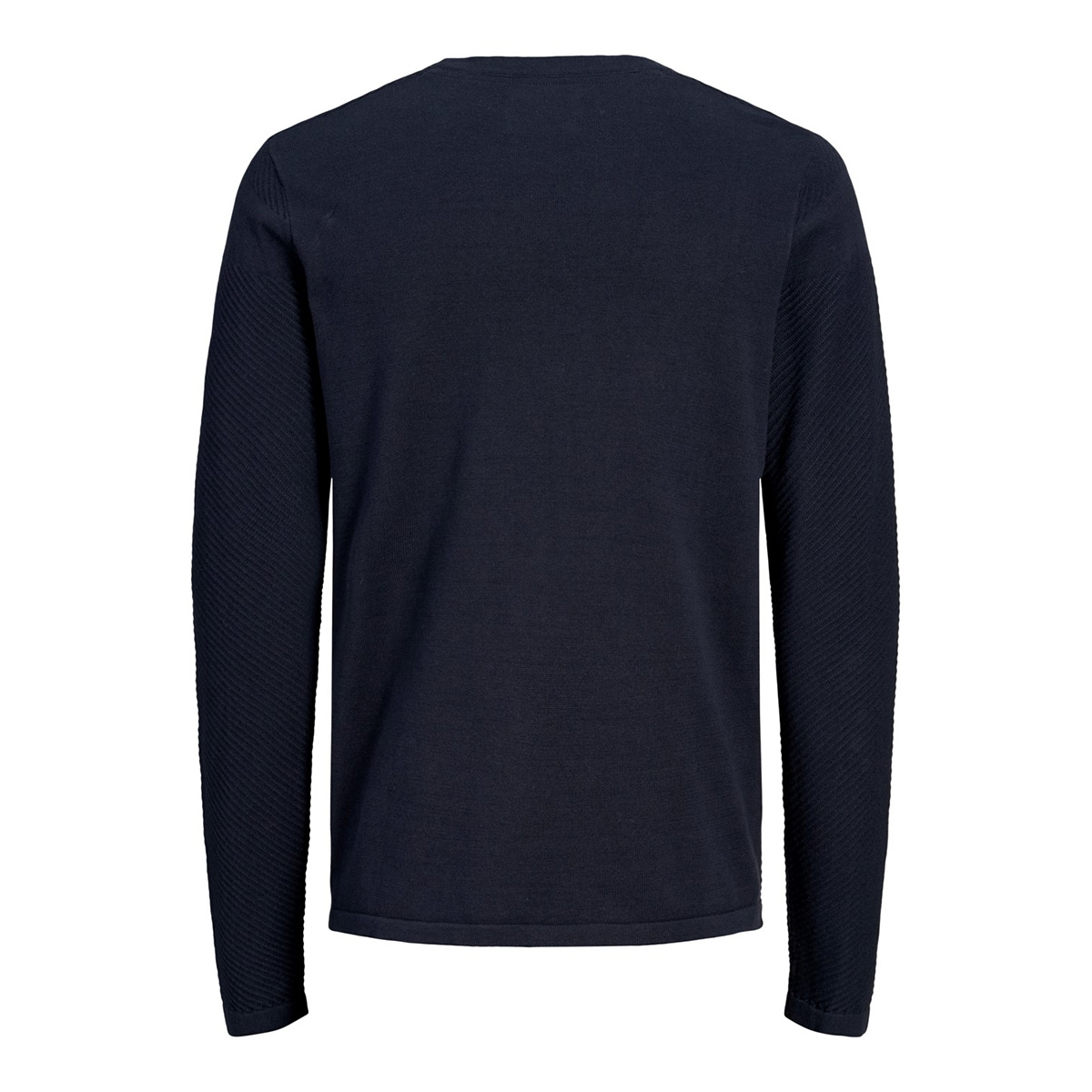 jcomoon knit crew neck 12163320 jack & jones trui sky captain/knit fit