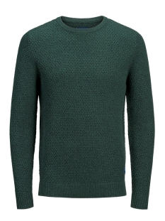 Jack & Jones Trui JORSILAS KNIT CREW NECK 12162249 Sea Moss/KNIT FIT