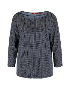 s.Oliver T-shirt T SHIRT MET DRIEKWART MOUW 14910395886 59C2