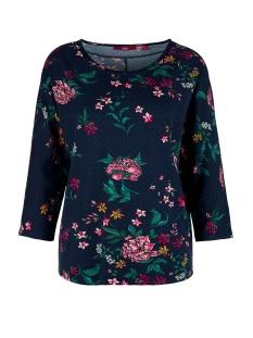 s.Oliver T-shirt T SHIRT MET DRIEKWART MOUW 14910395886 59C6