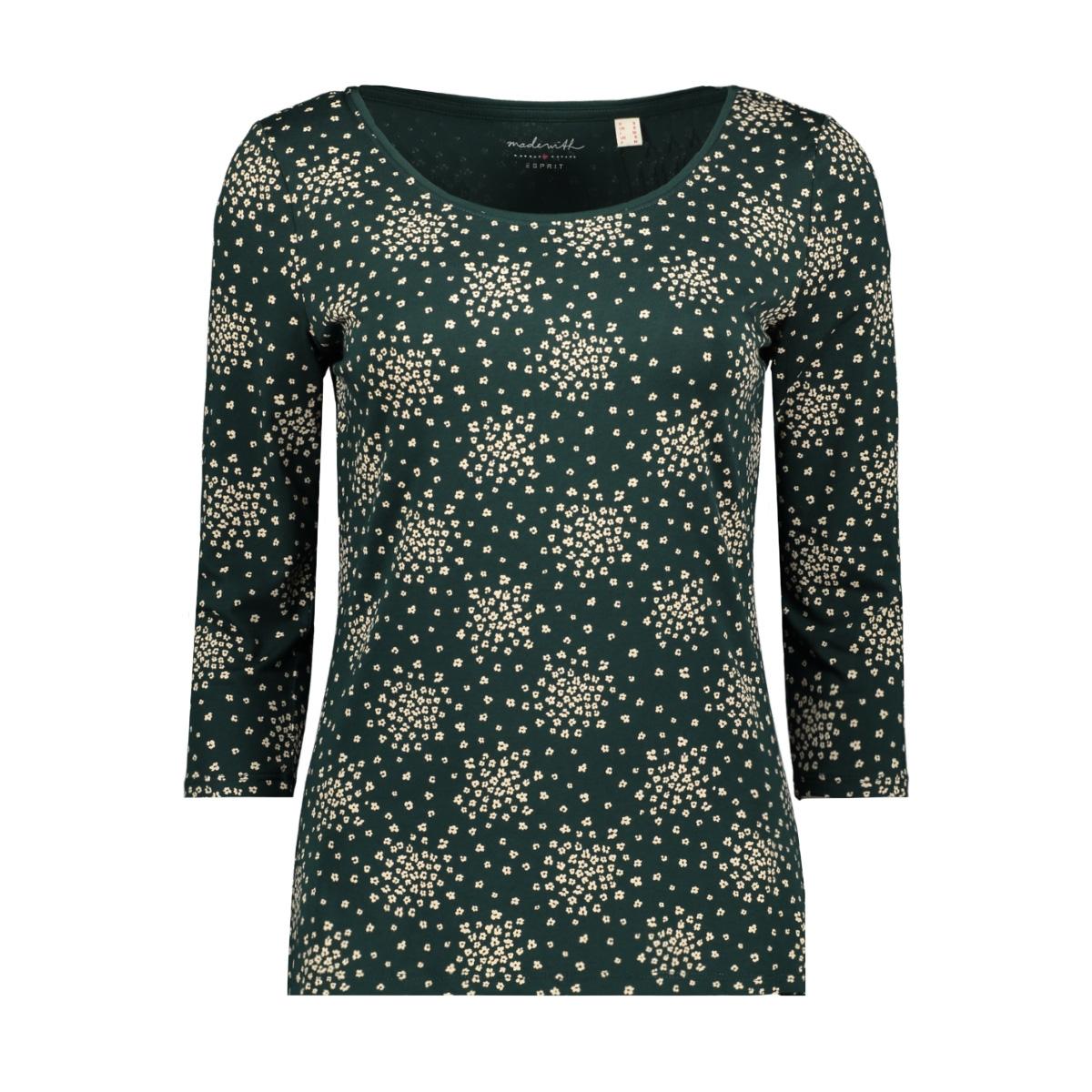 print shirt van katoen mix 109ee1k017 esprit t-shirt e375
