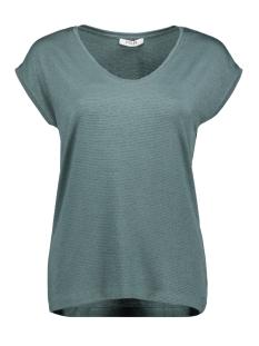 Pieces T-shirt PCBILLO TEE LUREX STRIPES NOOS 17078572 North Atlantic/LUREX TONE