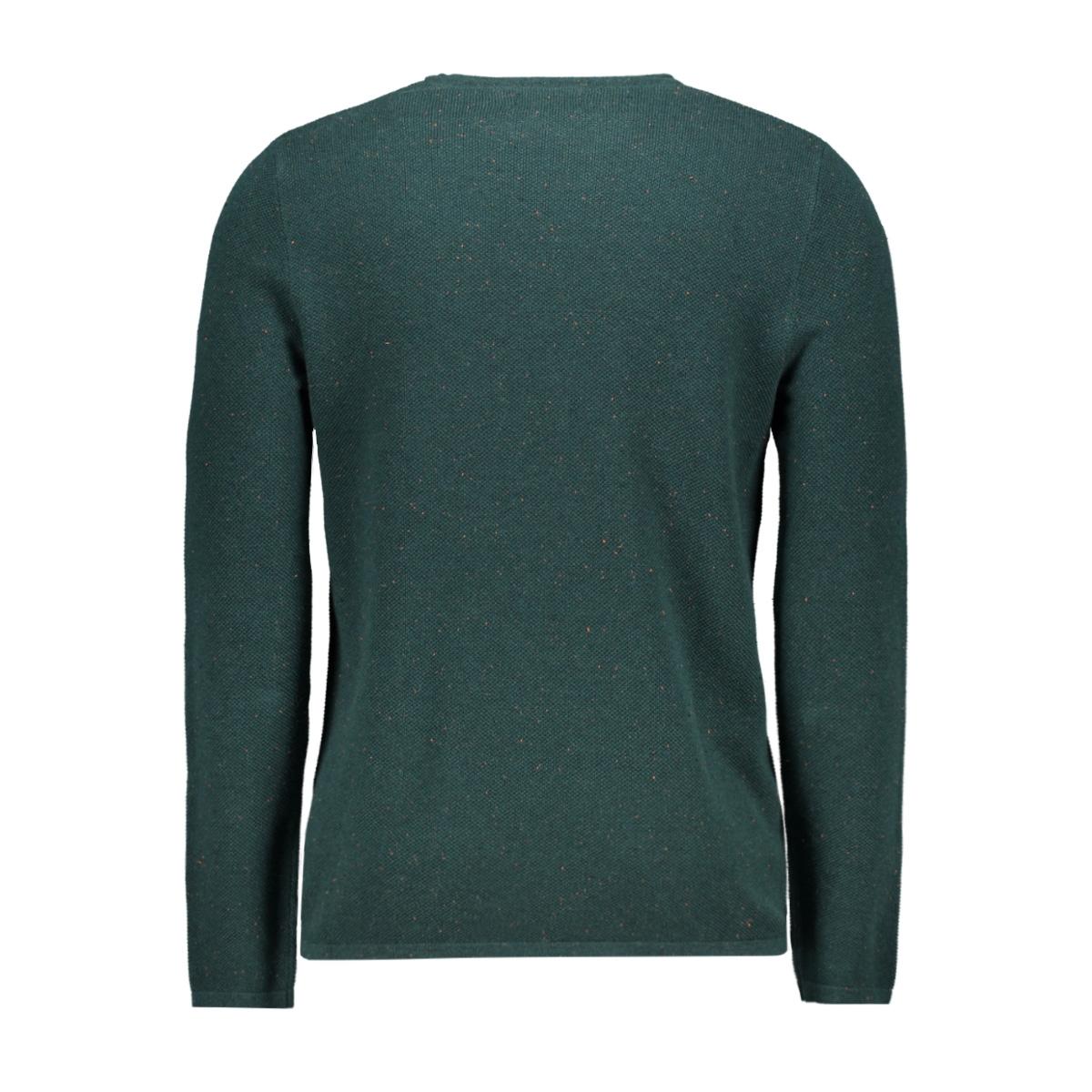 jornat knit crew neck 12161954 jack & jones trui sea moss/knit fit