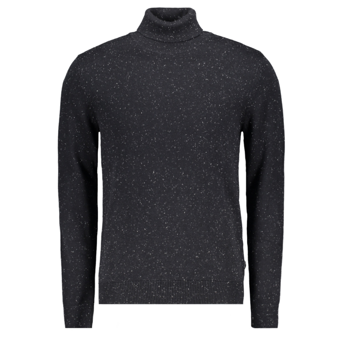 jpraiden knit roll neck 12164344 jack & jones trui black