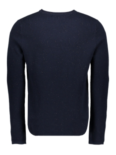 jornat knit crew neck 12161954 jack & jones trui sky captain