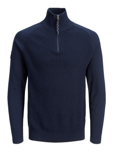 Jack & Jones Trui JORKLOVER KNIT HIGH NECK 12158536 Navy Blazer/KNIT FIT