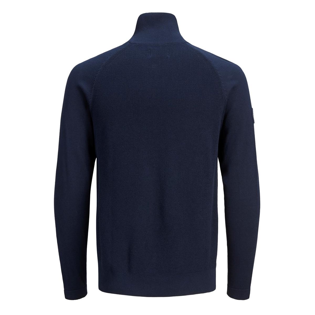 jorklover knit high neck 12158536 jack & jones trui navy blazer/knit fit