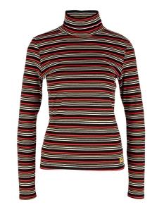 Q/S designed by T-shirt T SHIRT MET COL EN LANGE MOUWEN 41910313145 99G0