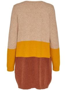 onlqueen l/s long cardigan knt noos 15158746 only vest indian tan/w.golden