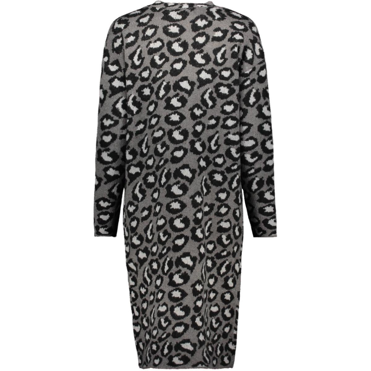 vmleon ls open coatigan 10221352 vero moda vest tornado/w. black a