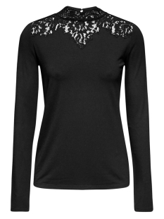 Esprit Collection T-shirt LONGSLEEVE MET STRETCH EN ELEGANTE KANT 119EO1K012 E001