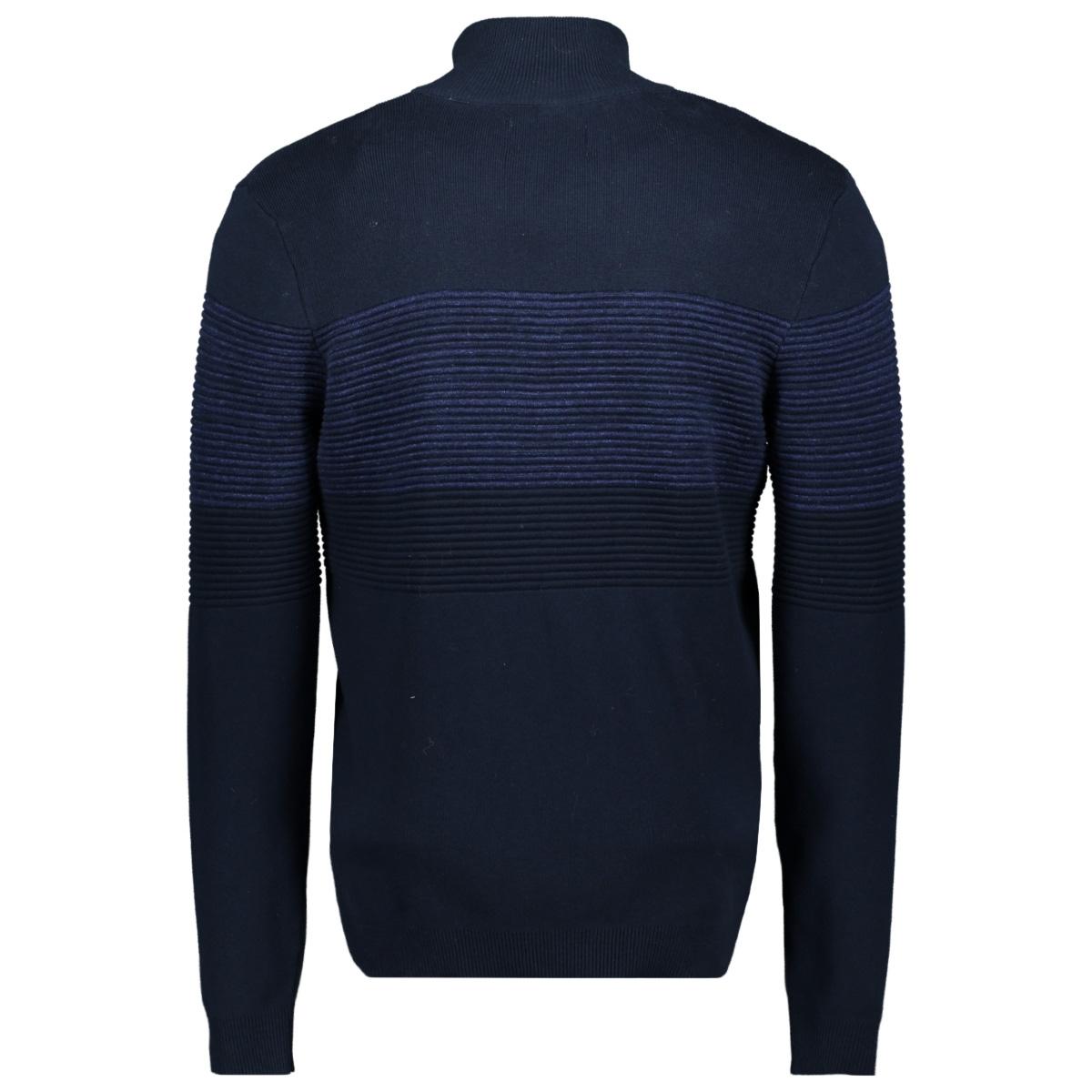 jcoshield knit cardigan 12163346 jack & jones vest sky captain