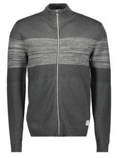 Jack & Jones Vest JCOSHIELD KNIT CARDIGAN 12163346 Dark Grey Melange