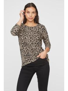 Vero Moda T-shirt VMMALENA 3/4 BLOUSE EXP COLOR 10206886 Silver Mink/LEA