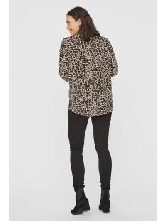 vmmalena 3/4 blouse exp color 10206886 vero moda t-shirt silver mink/lea