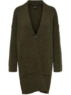 Only Vest ONLELAINA L/S CARDIGAN KNT 15183707 Beech/W. MELANGE