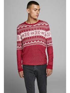 jorbells  knit crew neck. 12164355 jack & jones trui samba/knit fit