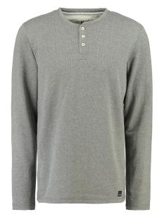 Garcia T-shirt TSHIRT MET LANGE MOUW  L91013 66 Grey melee