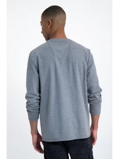 tshirt met lange mouw  l91013 garcia t-shirt 66 grey melee
