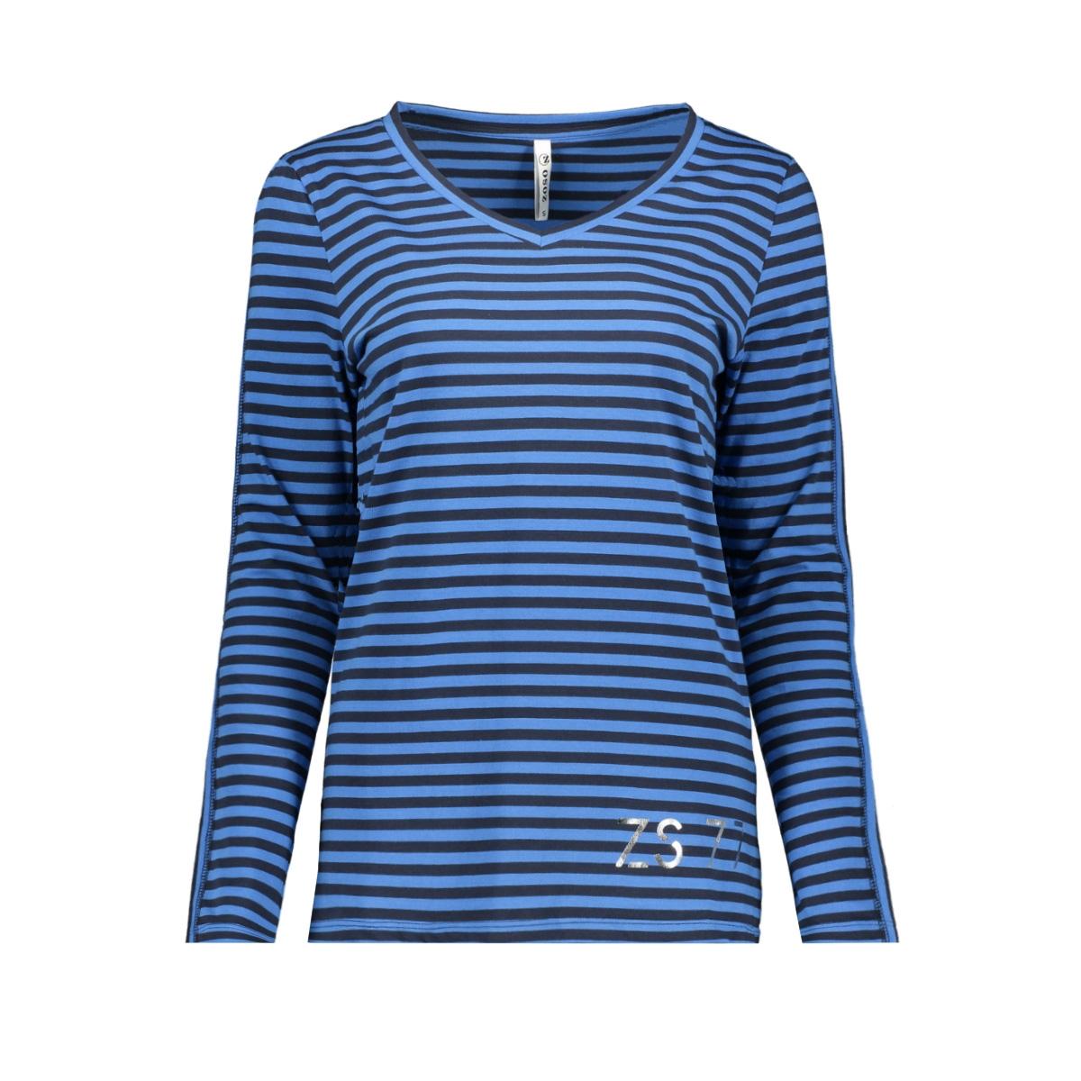 alida striped shirt 194 zoso t-shirt navy/blue