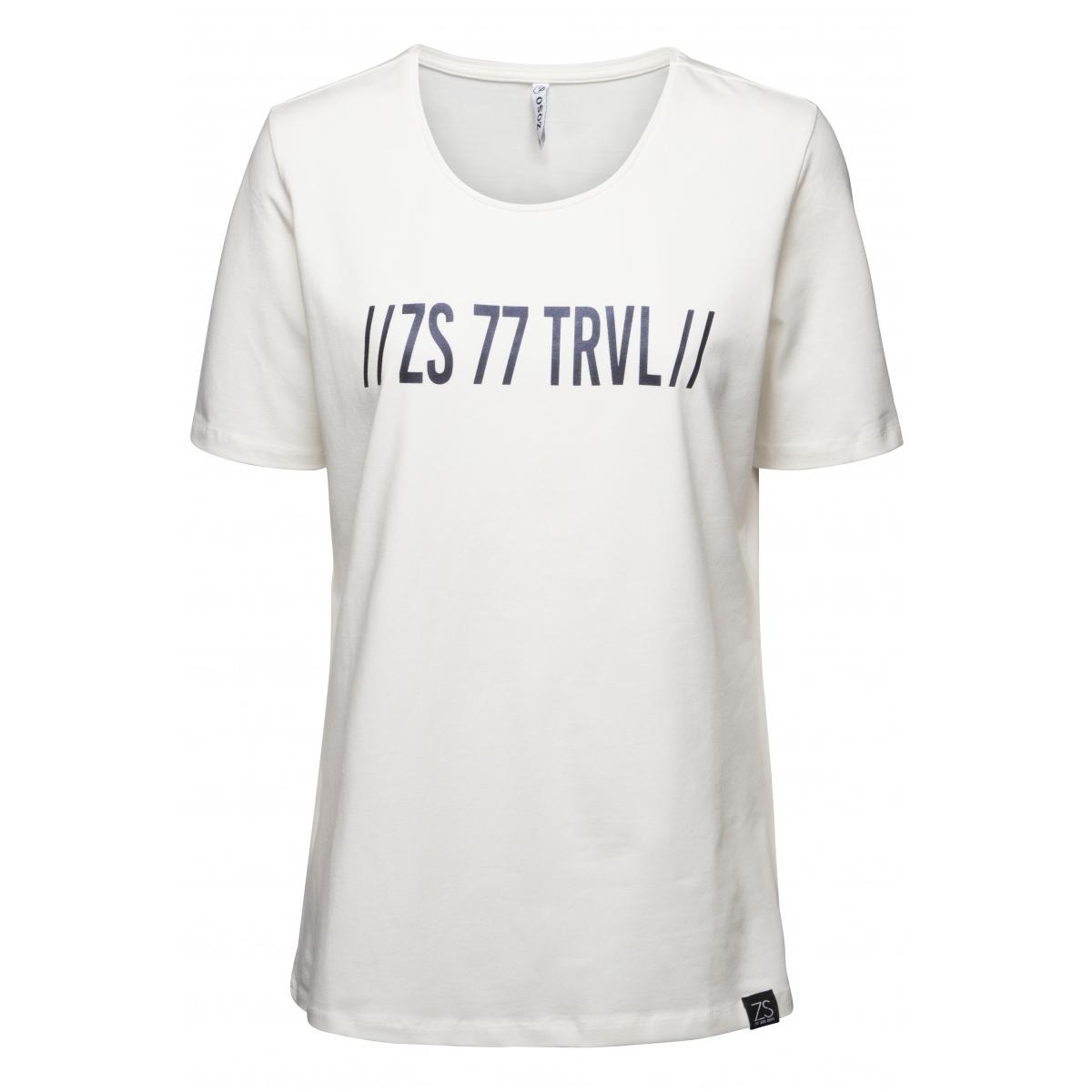 dorsey t-shirt with print 194 zoso t-shirt offwhite/black