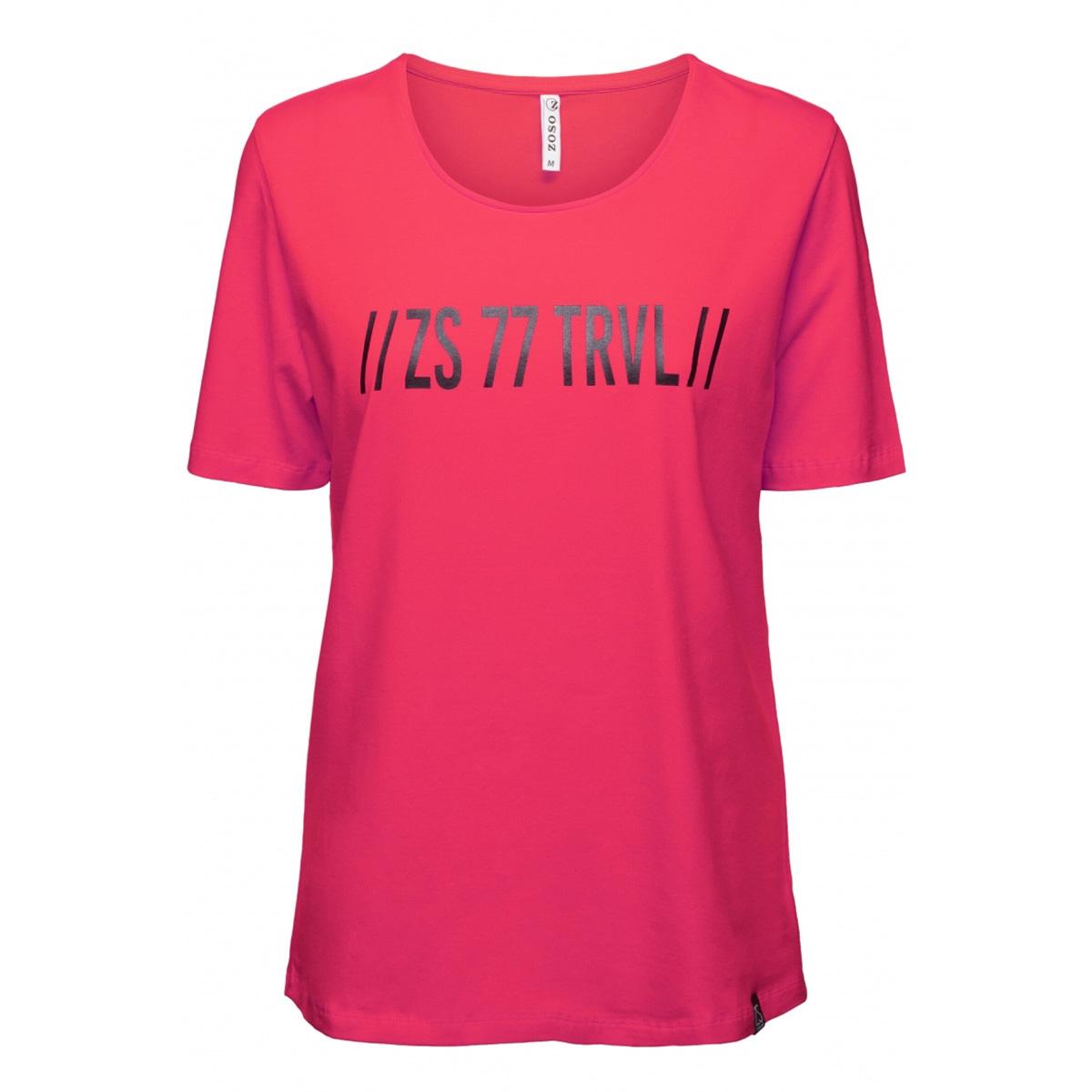 dorsey t-shirt with print 194 zoso t-shirt fuchsia