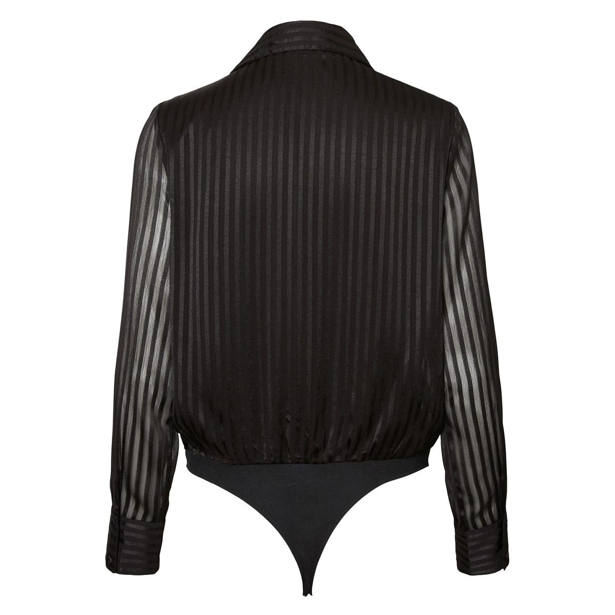 vmdoria ls body wvn 10222337 vero moda blouse black