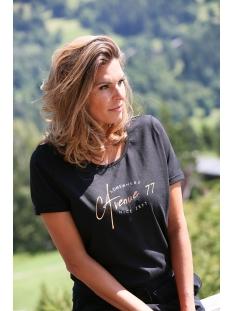 Zoso T-shirt DISCO T SHIRT  FOIL PRINT 195 0000 BLACK