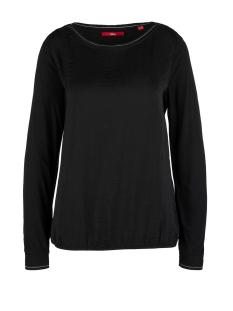 s.Oliver T-shirt LONGSLEEVE VAN EEN MATERIAALMIX 14911316796 9999
