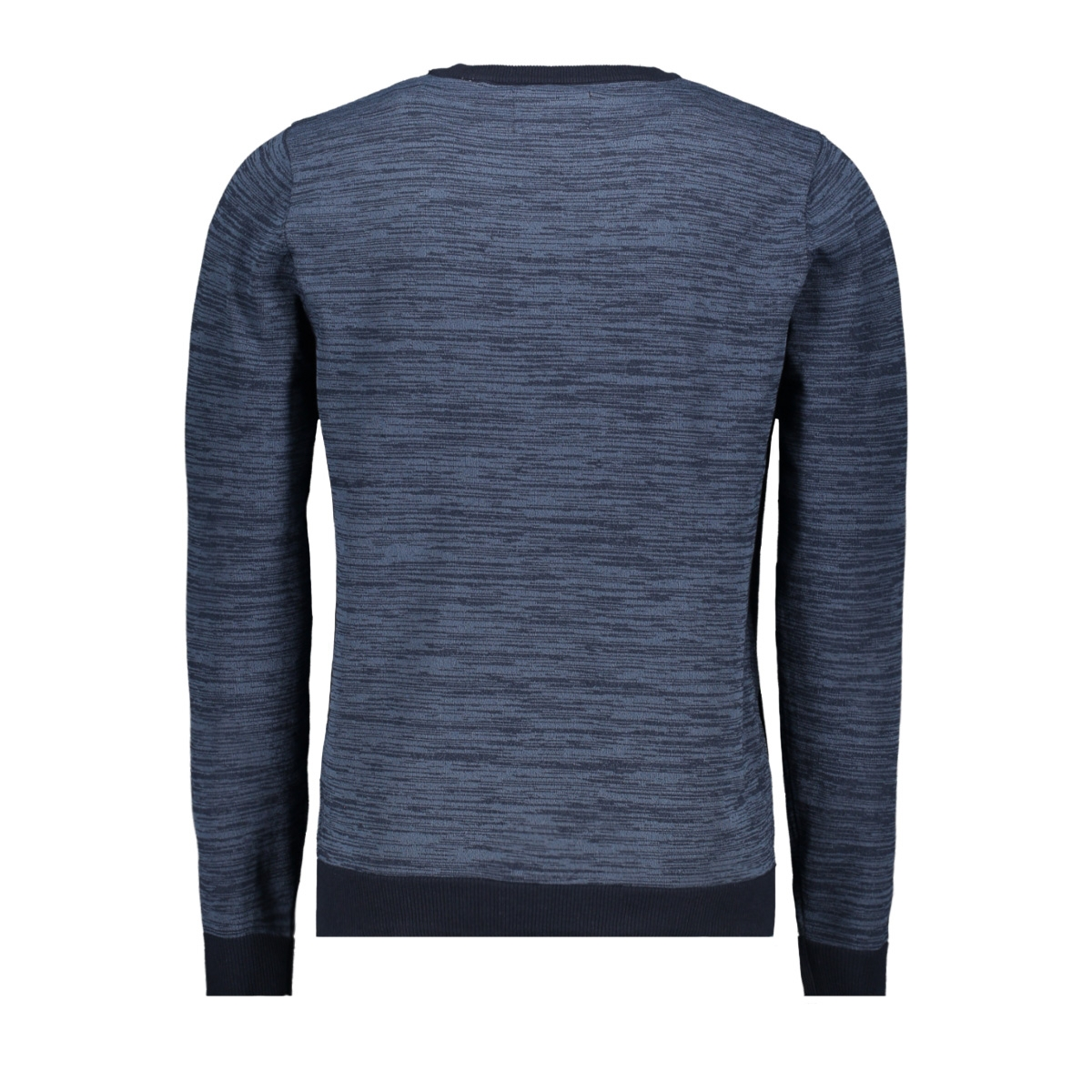 jcotonto knit crew neck 12160968 jack & jones trui sky captain/knit fit