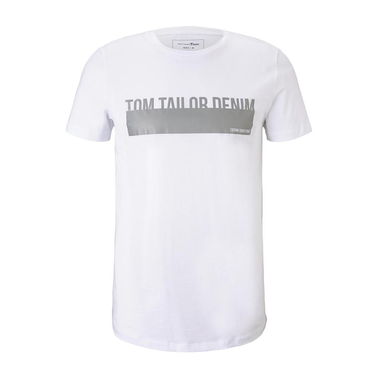 t shirt met reflecterende print 1015661xx12 tom tailor t-shirt 20000