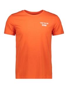 t shirt met tekst 1015660xx12 tom tailor t-shirt 15612