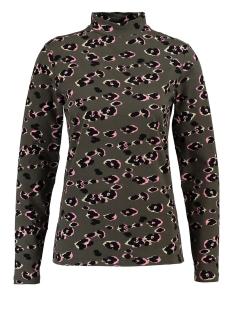 Garcia T-shirt PANTERPRINT T SHIRT GE900902 1690 Beetle