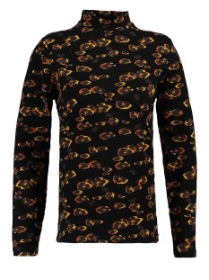 Garcia T-shirt PANTERPRINT T SHIRT GE900902 60 Black
