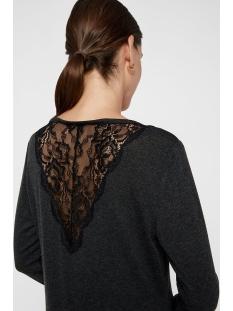 vmbirthe l/s  o-neck top jrs bf 10220742 vero moda trui dark grey melange