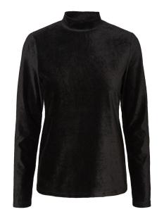 Vero Moda T-shirt VMENA LS HIGHNECK TOP JRS 10222676 Black