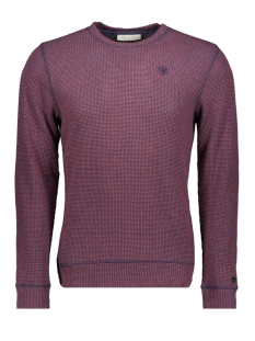 Cast Iron Trui TWO TONE PULLOVER CTS198001 3181