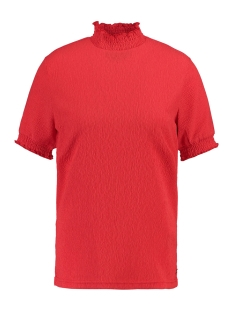 Garcia T-shirt T SHIRT MET HIGHNECK L90033 721 Poppy Red