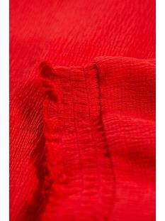 t shirt met highneck l90033 garcia t-shirt 721 poppy red