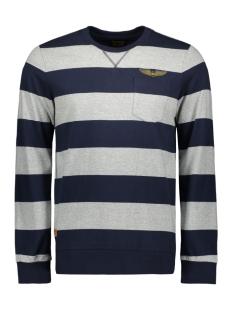 PME legend T-shirt STRIPED JERSEY PTS198530 9077