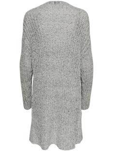 jdyhollis l/s cardigan knt 15190329 jacqueline de yong vest light grey melange/melange