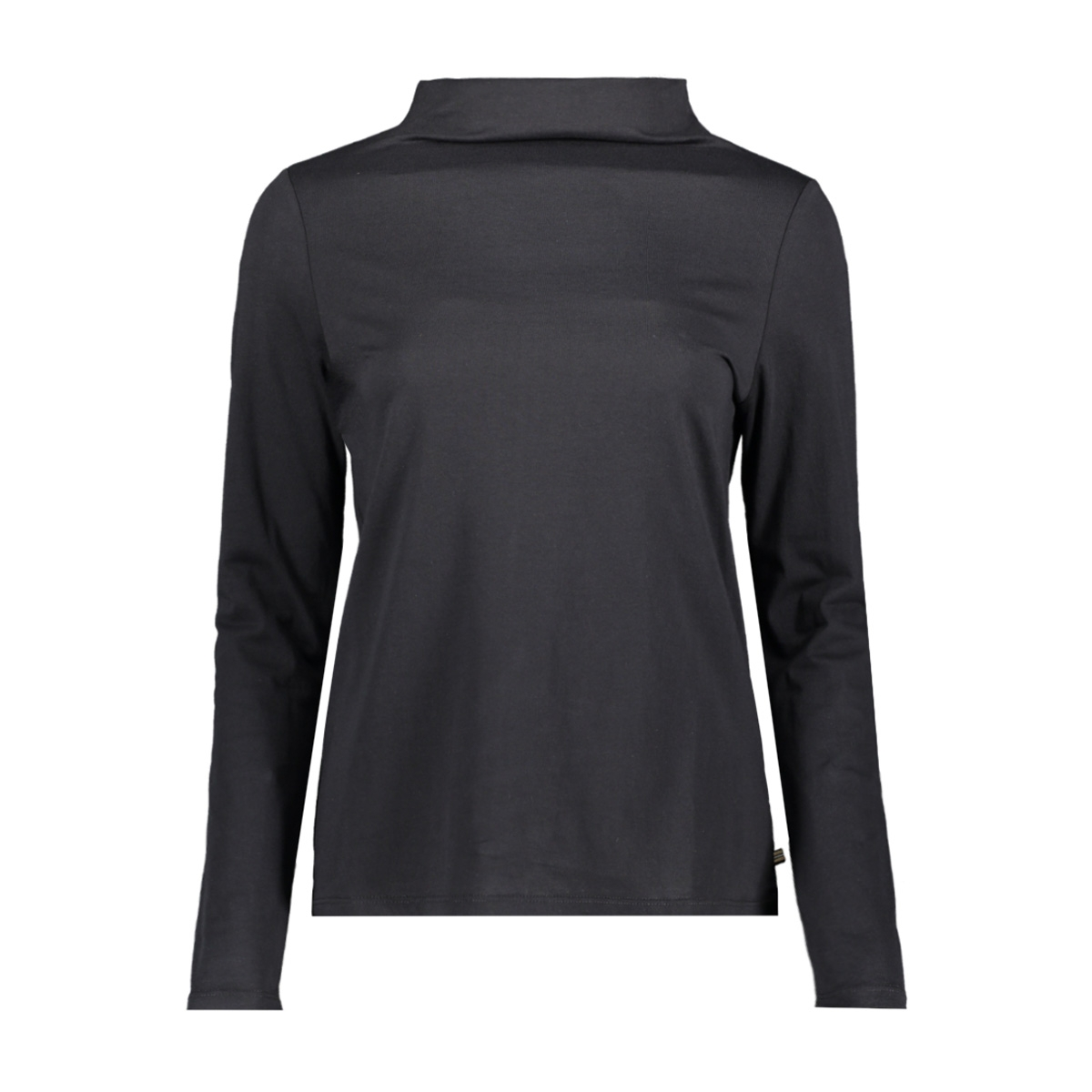 longsleeve met staande kraag 129ee1k042 esprit t-shirt e001