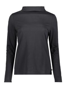Esprit T-shirt LONGSLEEVE MET STAANDE KRAAG 129EE1K042 E001
