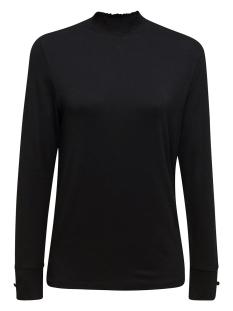 Esprit Collection T-shirt LONGLEEVE MET GESMOCKTE KRAAG 129EO1K007 E001