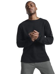Tom Tailor T-shirt LANGE MOUWEN SHIRT MET STRUCTUUR 1015945XX12 29999