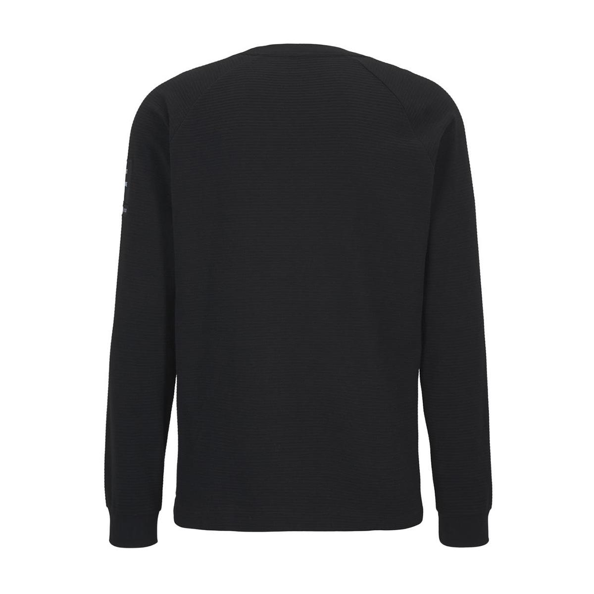 lange mouwen shirt met structuur 1015945xx12 tom tailor t-shirt 29999