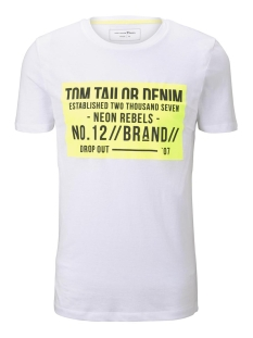Tom Tailor T-shirt T SHIRT MET PRINT 1015938XX12 20000